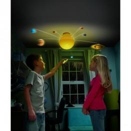 Sistem solar luminos cu telecomanda Brainstorm Toys