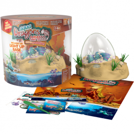 Set Acvariu Jurassic Time Travel EGGspedition Aqua Dragons World Alive