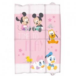 Saltea de infasat pliabila Minnie Disney Eurasia