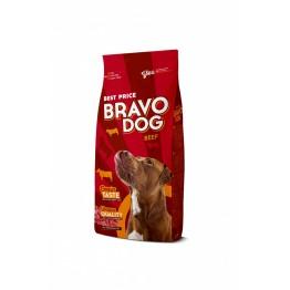 Hrana uscata cu vita Bravo Dog 10 kg