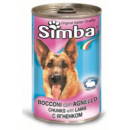 Conserva cu carne de miel Simba 415 g