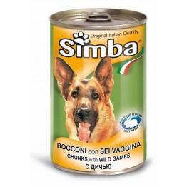 Conserva cu carne de vanat Simba 415 g