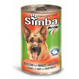 Conserva cu carne de vita si legume Simba 1230 g