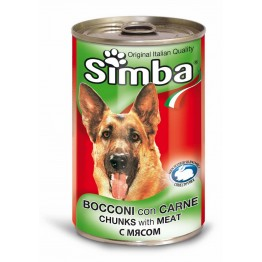 Conserva cu carne de vitel Simba 1230 g