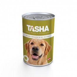 Conserva cu carne de pui Tasha 415 g
