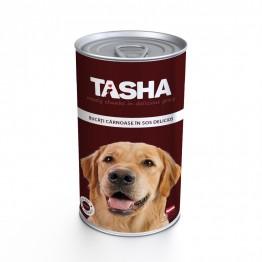 Conserva cu carne de vita Tasha 1240 g