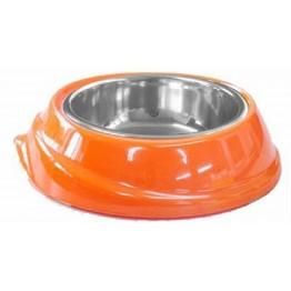 Castron melamina/inox orange 300 ml