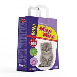 Asternut igienic din betonina cu lavanda Miau-Miau 3 kg