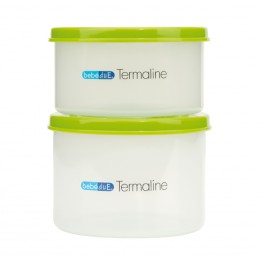 Set 2 recipiente hrana copii Termaline BebeduE