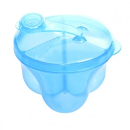 Set 2 biberoane Ergo 240 ml si dozator lapte praf 270 ml BebeduE