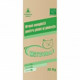 Hrana uscata cu vita pentru pisici Mitzura 20 kg