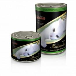 Conserva pentru pisici cu carne de iepure Leonardo 400 g