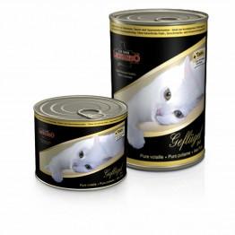 Conserva pentru pisici cu carne de pasare Leonardo 400 g