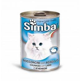 Conserva cu carne de miel pentru pisici Simba Cat 415 g