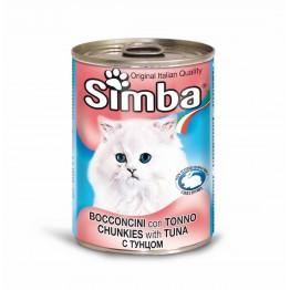 Conserva cu ton pentru pisici Simba Cat 415 g