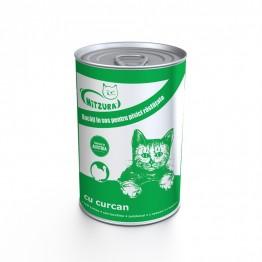 Conserva pentru pisica cu carne de curcan Mitzura 415 g