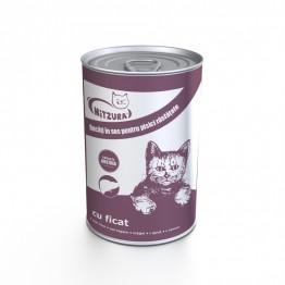 Conserva pentru pisica cu ficat Mitzura 415 g