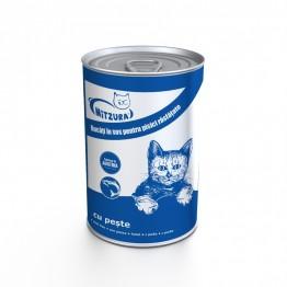 Conserva pentru pisici cu peste Mitzura 415 g