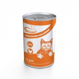 Conserva pentru pisici cu pui Mitzura 415 g