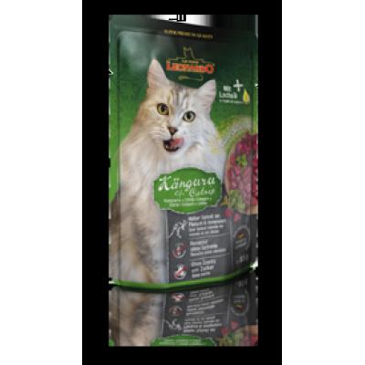 Plic pentru pisici cu carne de cangur Leonardo 85 g