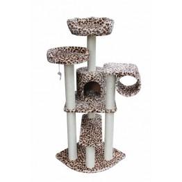 Ansamblu pentru pisici Leopard print