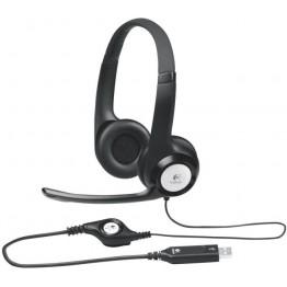 Casti audio Logitech H390 , Peste cap , USB , Negru