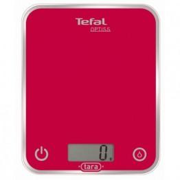 Cantar de bucatarie Tefal Optiss BC5003V1, pana la 5 kg, roz