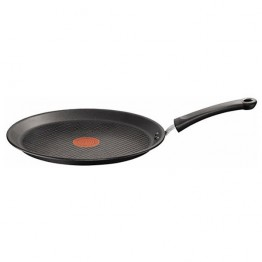 Tigaie clatite Tefal Talent Pro C6213852, 25 cm, ThermoSpot, negru