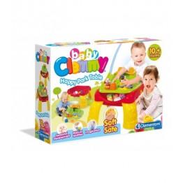 Clemmy Masa de joaca cu cuburi Clementoni