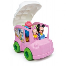 Clemmy Autobuz Minnie cu cuburi Clementoni