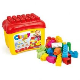 Clemmy Cutie cu 30 cuburi Clementoni
