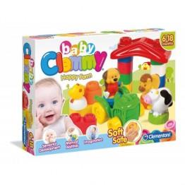 Clemmy Ferma vesela cu cuburi Clementoni