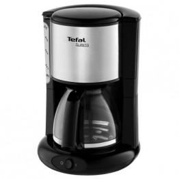 Cafetiera Tefal Subito CM360812, putere 1000 W, 1.25 l, negru/inox