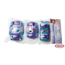 Set protectie pentru copii (genunchiere, cotiere, protectie incheieturi) Frozen DArpeje