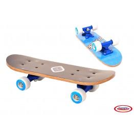 Mini Skateboard albastru 43 cm FunBee DArpeje