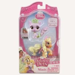 Figurina Disney 3.8 cm - Pisicuta Tatianei si Poneiul lui Rapunzel (Lily si Blondie) Blip Toys