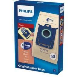 Saci din hartie Philips S-Bag Classic FC8019/01, 5 buc