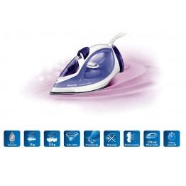 Fier de calcat Philips EasySpeed Plus GC2048/30, putere 2300 W, capacitate 0.27 l