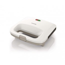 Sandwich maker Philips Daily Collection HD2392/00, putere 820 W, alb