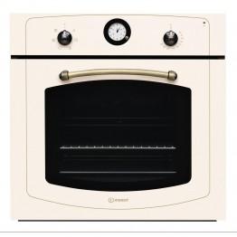 Cuptor electric incorporabil Indesit IFVR500OW, clasa A, capacitate 60 l, grill, bej