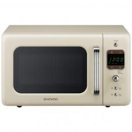 Cuptor cu microunde Daewoo KOR-6LBRC, retro, putere 800 W, capacitate 20 l, digital