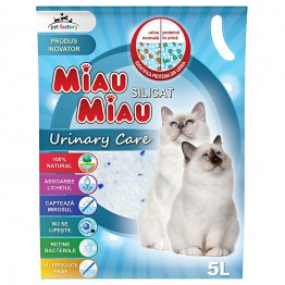 Asternut Silicat Urinary Care Miau-Miau 5 L