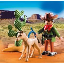 Cowboy cu manz Playmobil