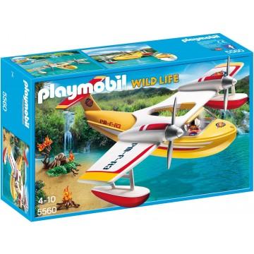 Avion pentru incendii Playmobil