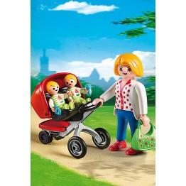 Carucior cu gemeni Playmobil