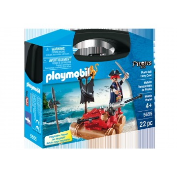 Set portabil Pluta piratilor Playmobil