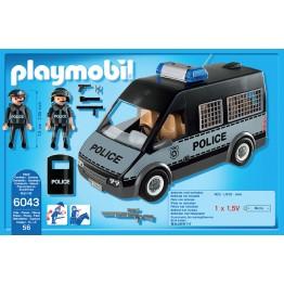 Duba politiei cu lumini si sunete Playmobil