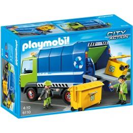 Camion de reciclare Playmobil