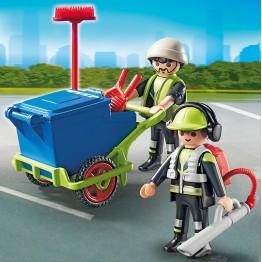 Echipa salubritate Playmobil