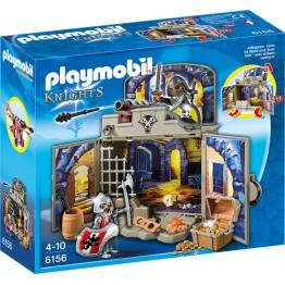 Cutie de joaca Camera secreta a cavalerilor Playmobil